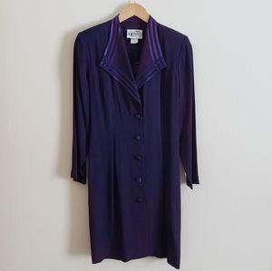 VTG Purple Blazer Dress